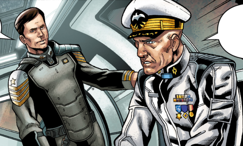 Captain Thomas Lasky Commander Lasky And Captain